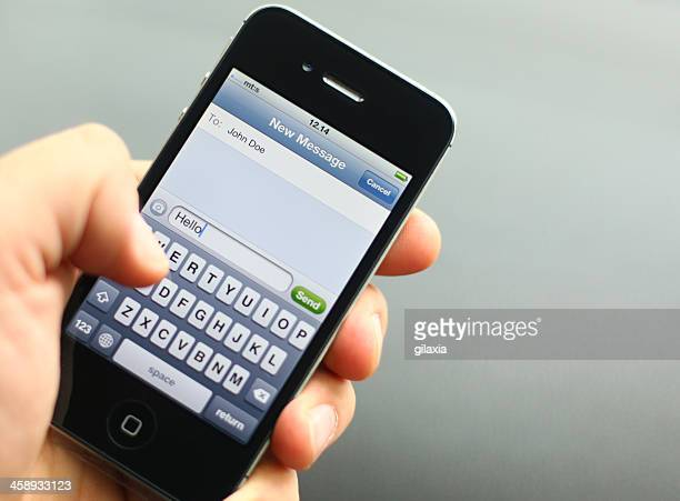iPhone texting