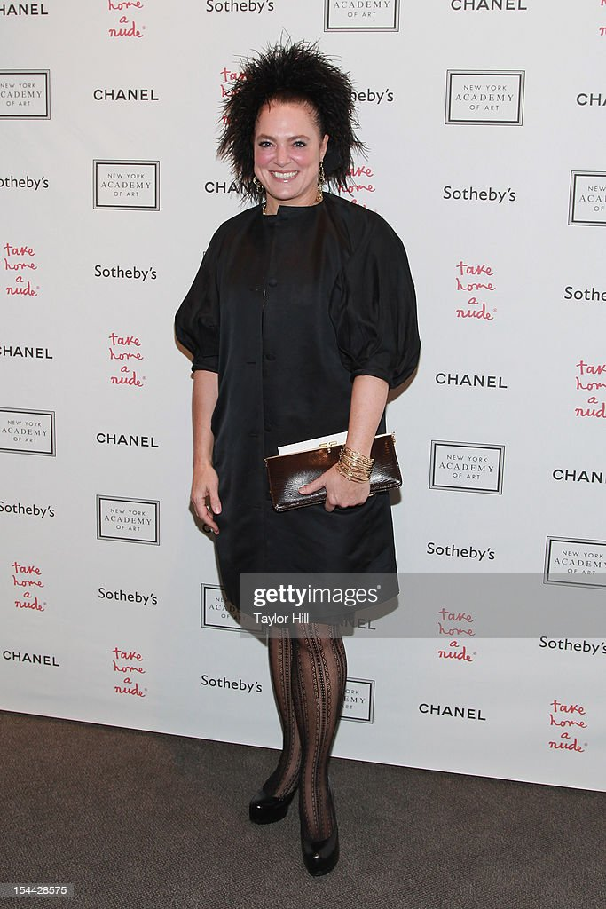Ippolita attends the 2012 Take Home a Nude Benefit Art Auction at Sotheby's on October 18, 2012 in New York City.
