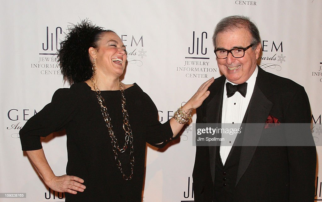 Ippolita Rostagno and Matthew A. Runci attend the 11th Annual GEM Awards Gala at Cipriani 42nd Street on January 11, 2013 in New York City.
