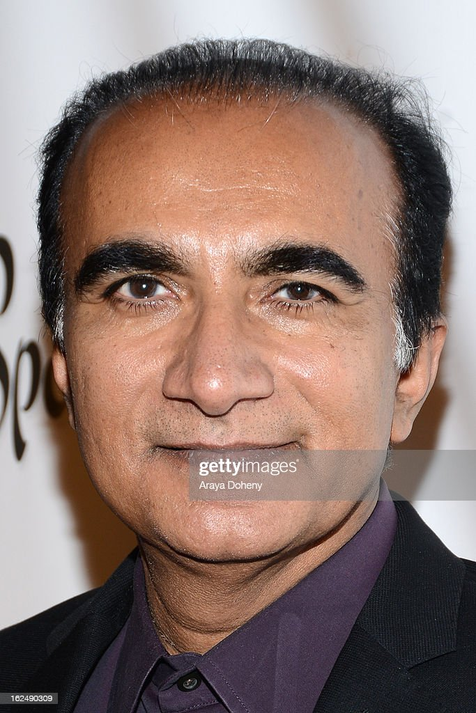 Iqbal Theba arrives at the 1st Annual Borgnine Movie Star Gala at Sportsmen's Lodge on February 23, 2013 in Studio City, California.