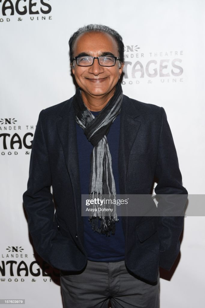 Iqbal Theba arrives at the 'Donny & Marie Christmas In Los Angeles' - Opening Night Performance at the Pantages Theatre on December 4, 2012 in Hollywood, California.