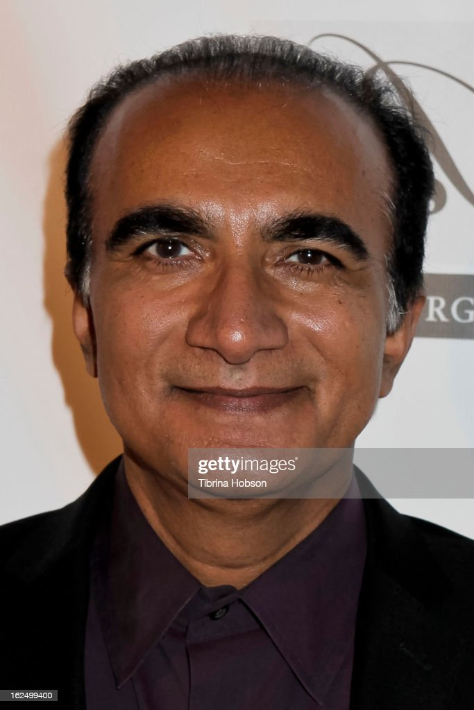 Iqbal Theba attends the Borgnine Group's 1st annual Borgnine movie star gala at Sportsmen's Lodge on February 23, 2013 in Studio City, California.