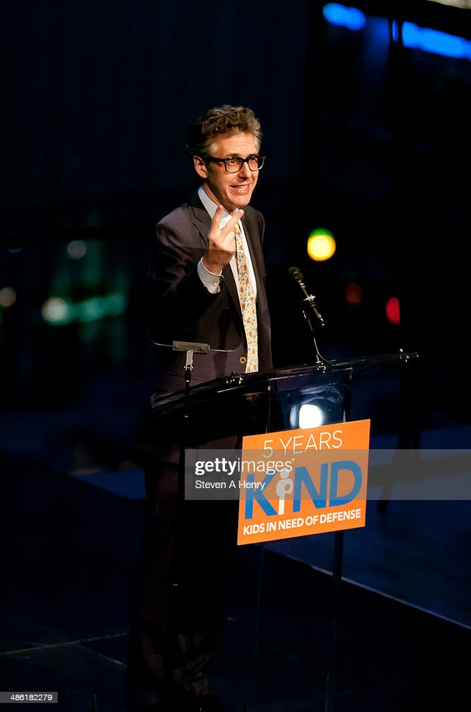 Ira Glass attends the 2014 Kids In Need Of Defense Gala Benefit Dinner at Frederick P. Rose Hall, Jazz at Lincoln Center on April 22, 2014 in New York City.