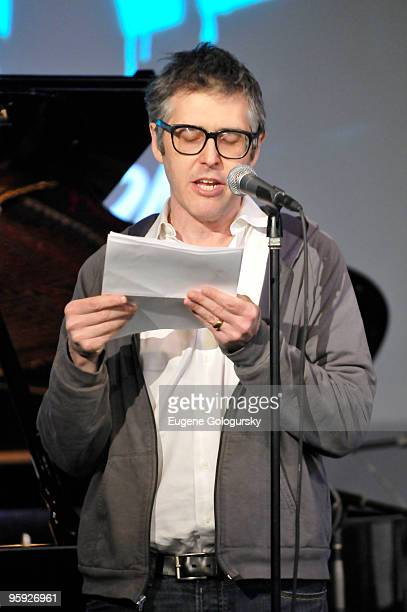 Ira Glass performs at Apple Store Soho on January 21 2010 in New York City