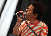 Ira Kaplan of Yo La Tengo performs during the 2009 Pitchfork Music Festival at Union Park on July 17 2009 in Chicago Illinois
