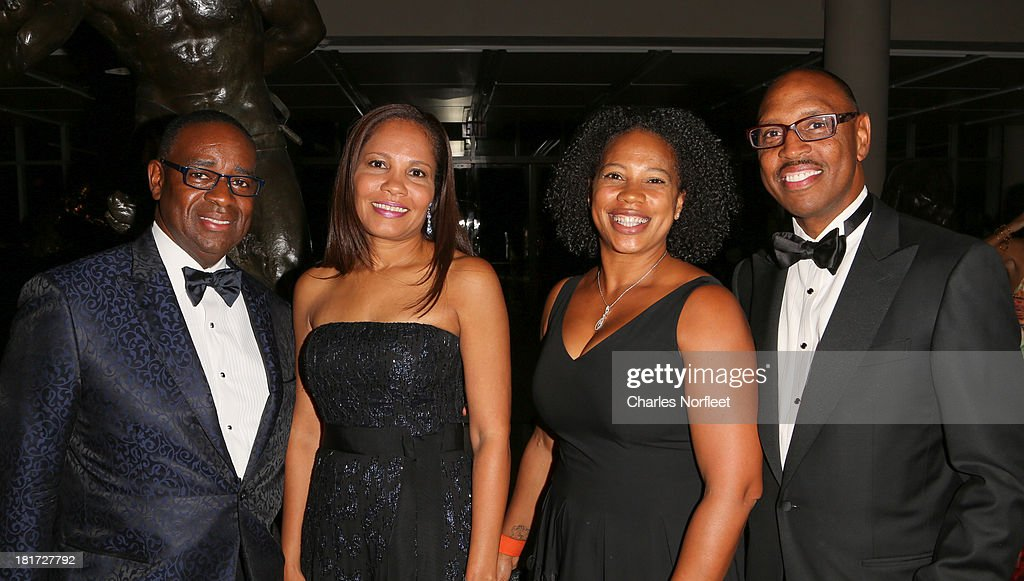 Ira Moreland, Cynthia Moreland, Cassandra Metz and Willie Woods attend 2013 Multicultural Gala: An Evening Of Many Cultures at Metropolitan Museum of Art on September 23, 2013 in New York City.