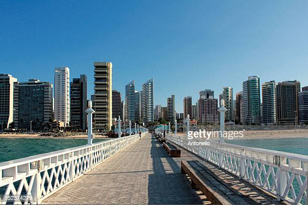 Iracema beach and pier