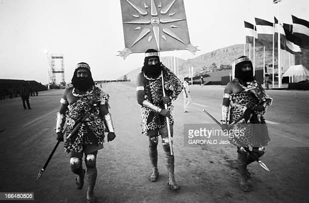 2500Th Anniversary Of The Persian Empire Persepolis 13 octobre 1971 Lors des trois jours de fêtes célébrant le 2500ème anniversaire de la fondation...