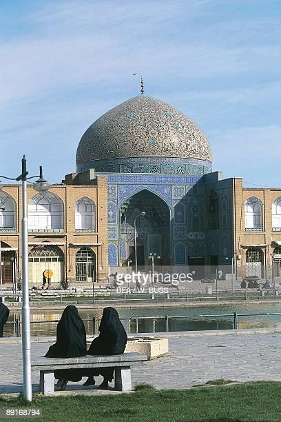 Iran Esfahan Sheikh Lotfollah Mosque at Naghshi Jahan Square