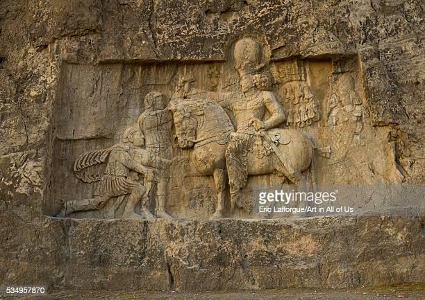 Iran Fars Province Shiraz the triumph of shapur i over the roman emperor valerian and philip the arab