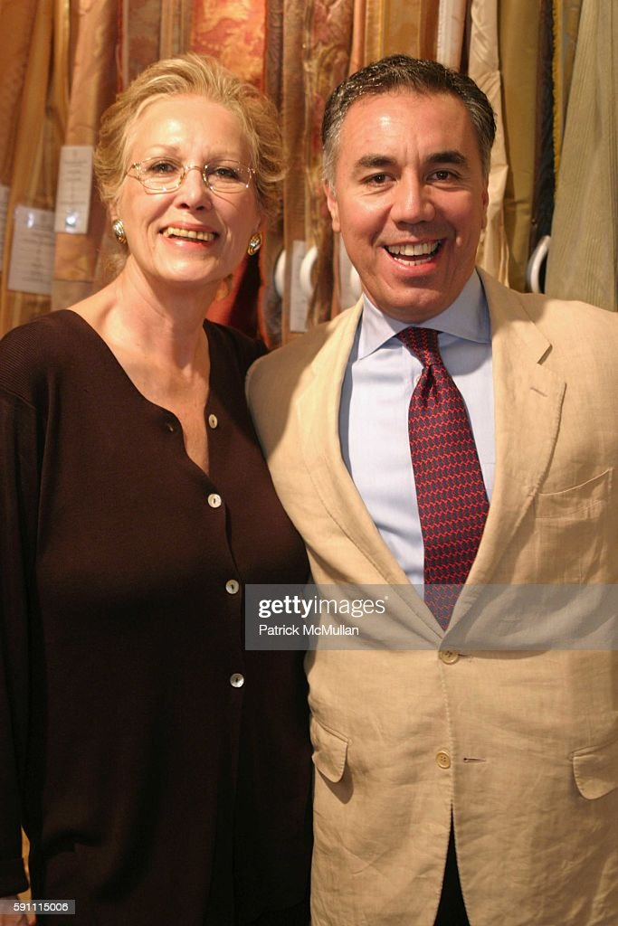 Iran IssaKhan Miguel FloresVianna attend Ann Getty Michael Leondas Kirkland and John Nelson celebrate the arrival of Ann Getty House Collection at J...