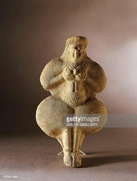 Iran Susa Female divinity terracotta