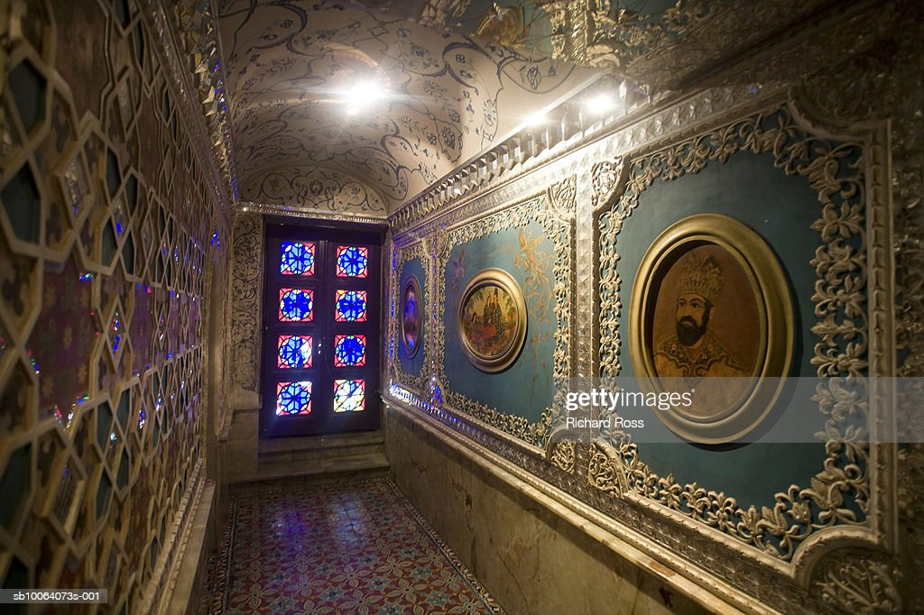 Iran, Tehran, Shah Palace : Stock Photo