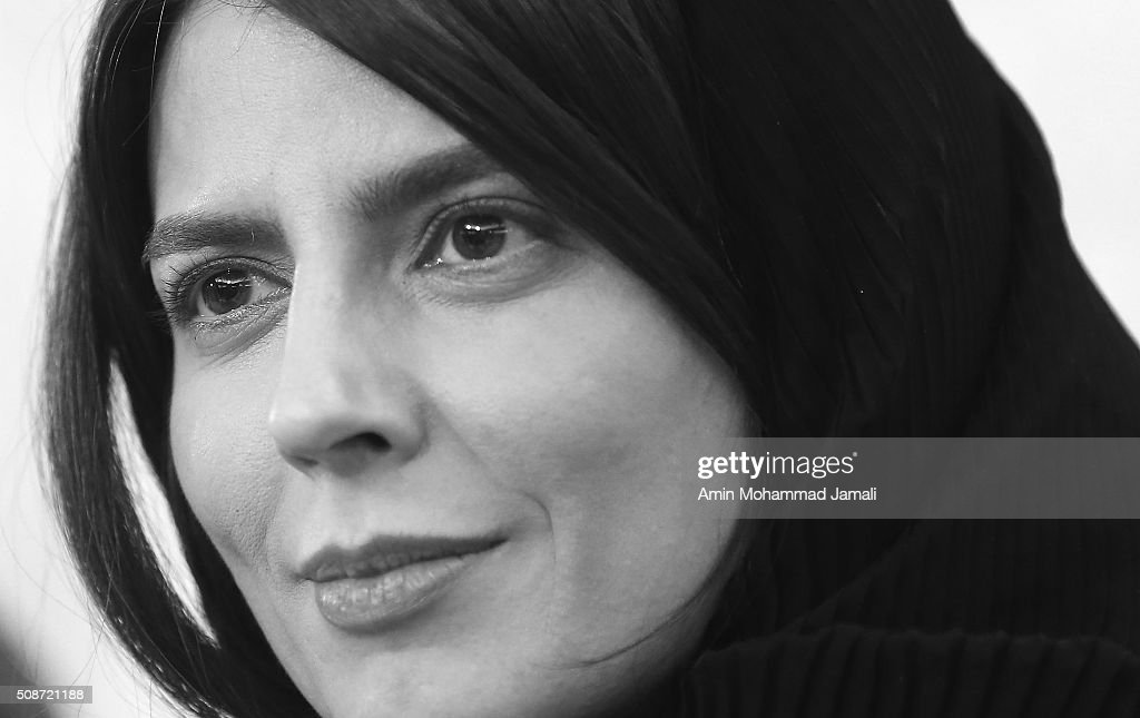 Iranian Actress <a gi-track='captionPersonalityLinkClicked' href=/galleries/search?phrase=Leila+Hatami&family=editorial&specificpeople=7082232 ng-click='$event.stopPropagation()'>Leila Hatami</a> attends a press conference as part of the 34rd Fajr International Film Festival on February 6, 2016 in Tehran, Iran.