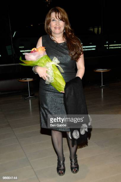 Iranian actress Mary Apick attends 'Beneath the Veil' at Alice Tully Hall Lincoln Center on April 25 2010 in New York City