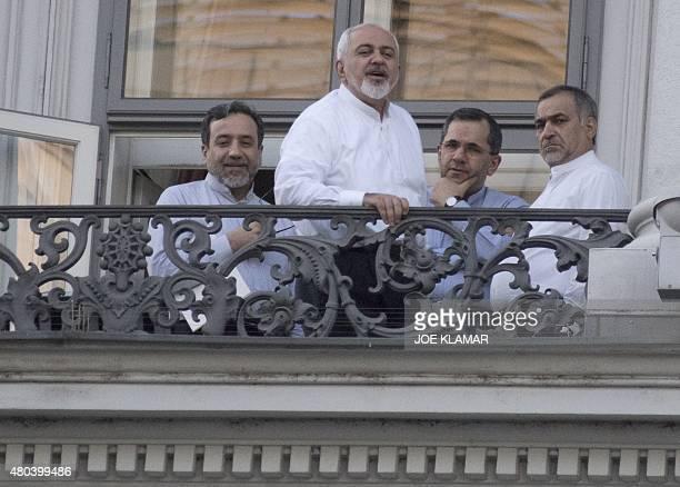 Iranian Deputy Foreign Minister Abbas Araqchi Iranian Foreign Minister Mohammad Javad Zarif Iran's deputy foreign minister for European and American...