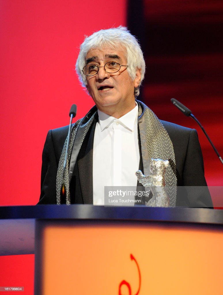 Iranian director Kamboziya Partovi attends the Closing Ceremony during the 63rd Berlinale International Film Festival at Berlinale Palast on February 14, 2013 in Berlin, Germany.