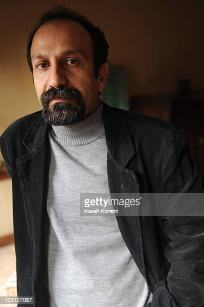 Iranian film director Asghar Farhadi photographed at his office on March 19 2011 in Tehran Iran Farhadi claimed the 'Golden Bear' the prize awarded...