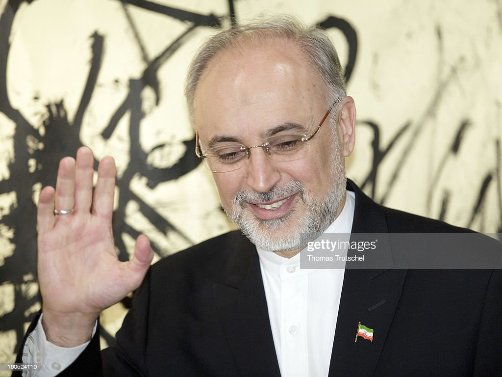 Iranian Foreign Minister <a gi-track='captionPersonalityLinkClicked' href=/galleries/search?phrase=Ali+Akbar+Salehi&family=editorial&specificpeople=3125551 ng-click='$event.stopPropagation()'>Ali Akbar Salehi</a> is pictured on day 2 of the 49th Munich Security Conference at Hotel Bayerischer Hof on February 2, 2013 in Munich, Germany. The Munich Security Conference brings together senior figures from around the world to engage in an intensive debate on current and future security challenges and remains the most important independent forum for the exchange of views by international security policy decision-makers.