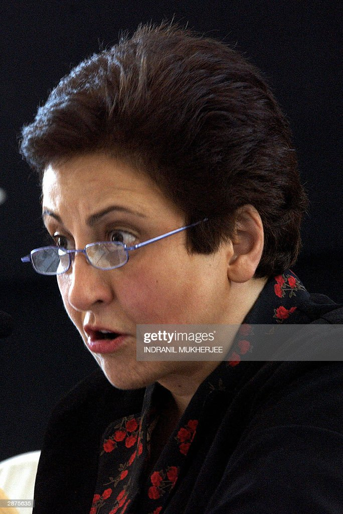 Iranian lawyer and 2004 Nobel Peace prize winner Shirin Ebad delivers a speech at a seminar on 'Overcoming Impunity' a part of a serie of panel...