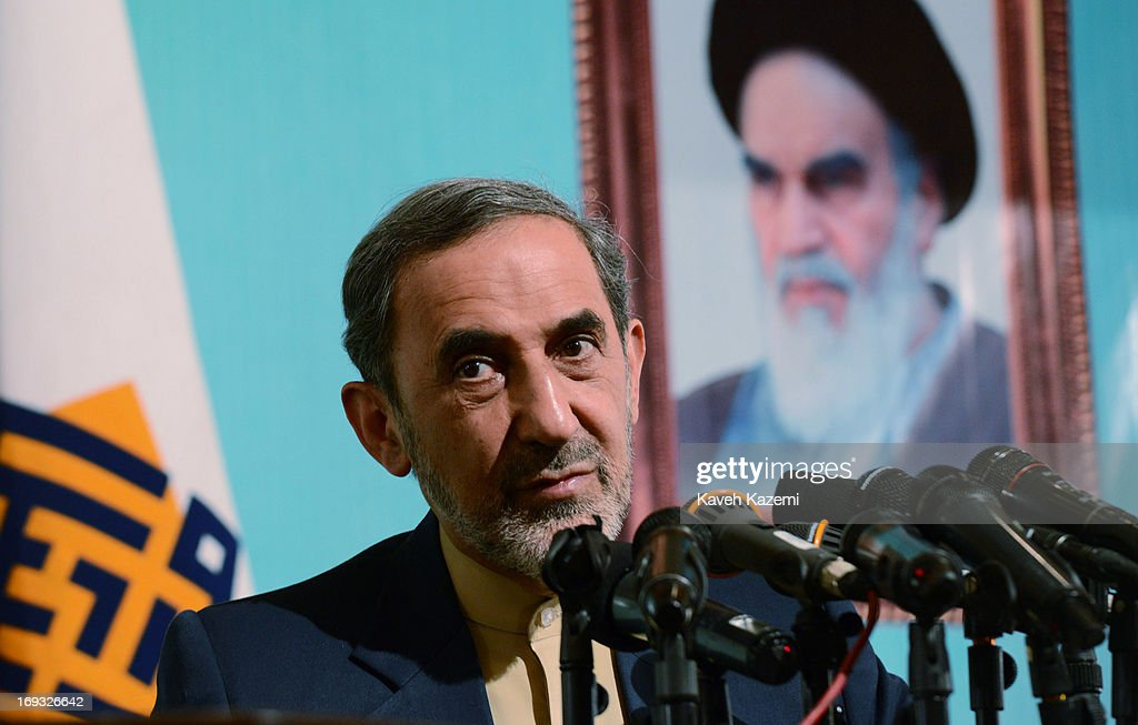 Iranian presidential candidate Dr Ali Akbar Velayati the former foreign minister of Iran and a special adviser to the supreme Iranian leader...
