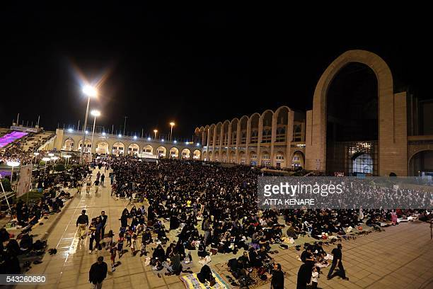 Non Muslim Perspective On The Revolution Of Imam Hussain: Imam Khomeini Grand Mosque Stock Photos And Pictures