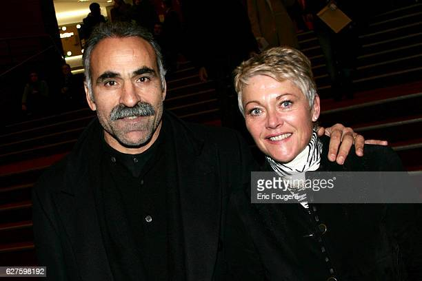 Iranian tennis champion Mansour Bahrami and his wife at the Man Ray club