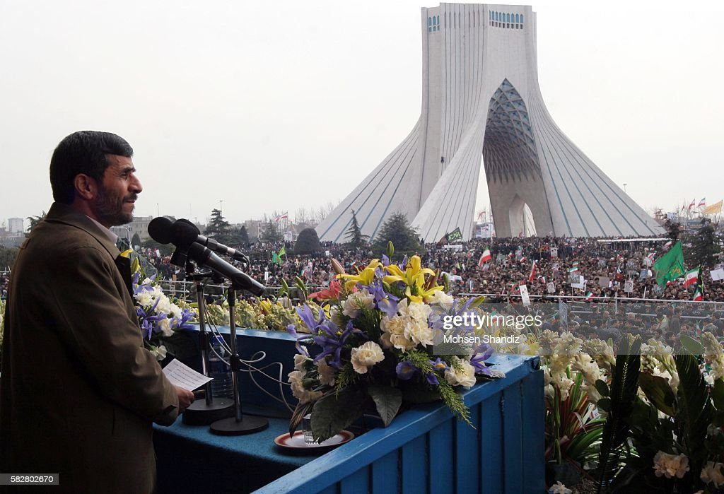 Iranians mark the 28th anniversary of the victory of their Islamic Revolution with nationwide rallies In Tehran the ralliers listened to President...