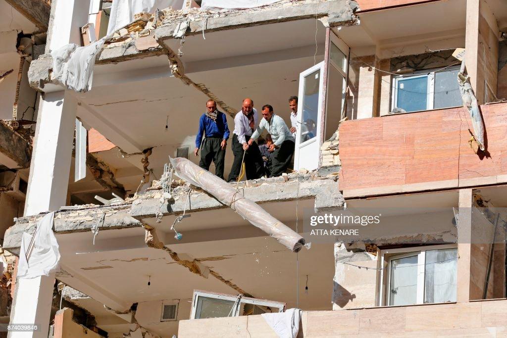 Earthquake Strikes Iraq-Iran Border Area