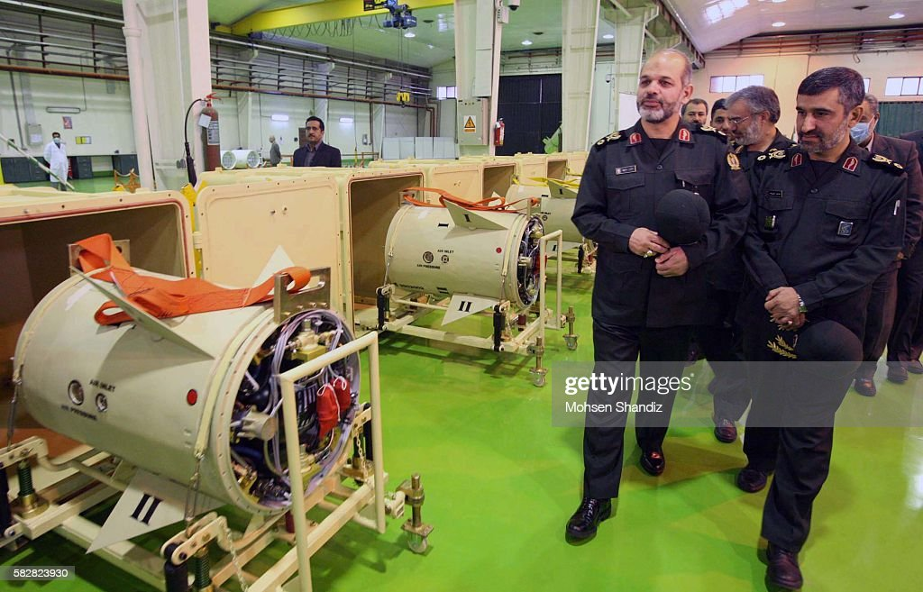 Iran's defense minister says the country's powerful Revolutionary Guard has received its first batch of new missiles with enhanced guidance systems...