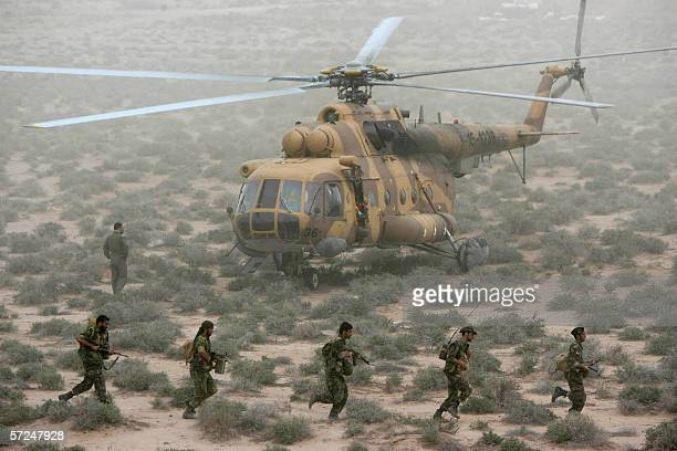 Iran's elite Revolutionary Guard special forces participate in military manoeuvers at an undisclosed location near the Gulf Sea 03 April 2006 The...