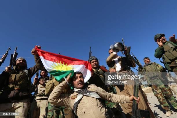 Iraqi autonomous Kurdish region's peshmerga forces and fighters from the Yazidi minority a local Kurdishspeaking community which the Islamic State...