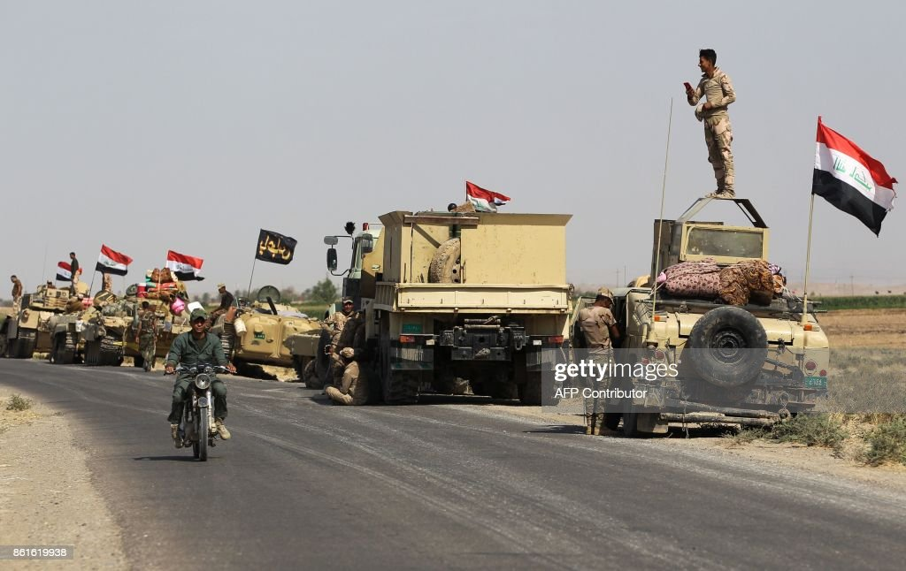 Iraqi Forces Launch Major Military Operation In Kirkuk