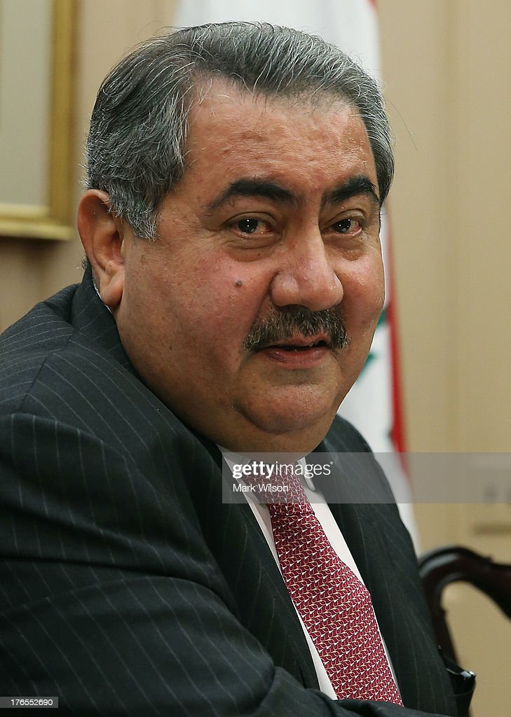 Iraqi Foreign Minister <a gi-track='captionPersonalityLinkClicked' href=/galleries/search?phrase=Hoshyar+Zebari&family=editorial&specificpeople=227333 ng-click='$event.stopPropagation()'>Hoshyar Zebari</a> speaks during a meeting with Secretary of State John Kerry at the State Department August 15, 2013 in Washington, DC. Minister Zebari spoke during the U.S.-Iraq Diplomatic and Political Joint Coordinating Committee meeting.