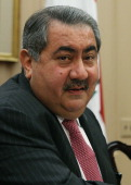 Iraqi Foreign Minister Hoshyar Zebari speaks during a meeting with Secretary of State John Kerry at the State Department August 15 2013 in Washington...