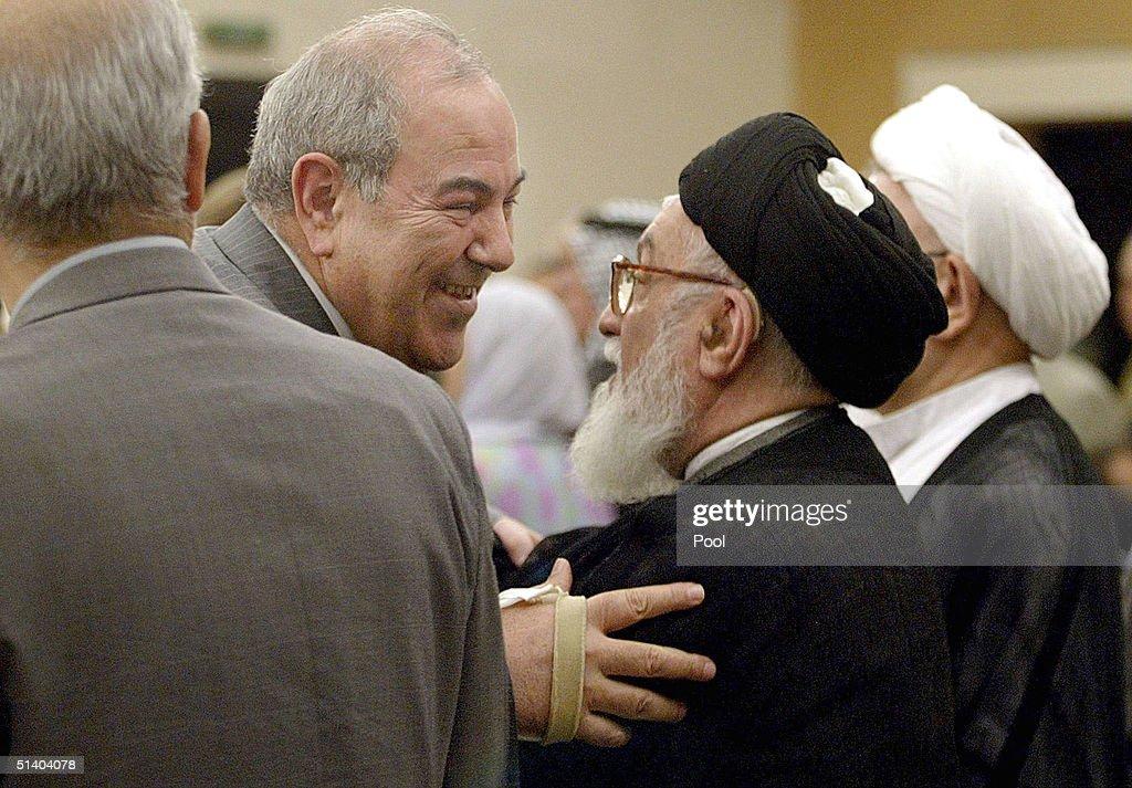 Iraqi Prime Minister Iyad Allawi Returns Home