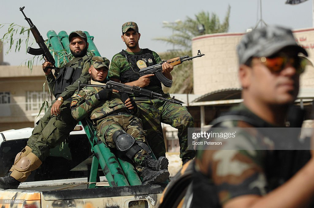 Mahdi Army : Iraqi s mahdi army vows to fight isis in baghdad march