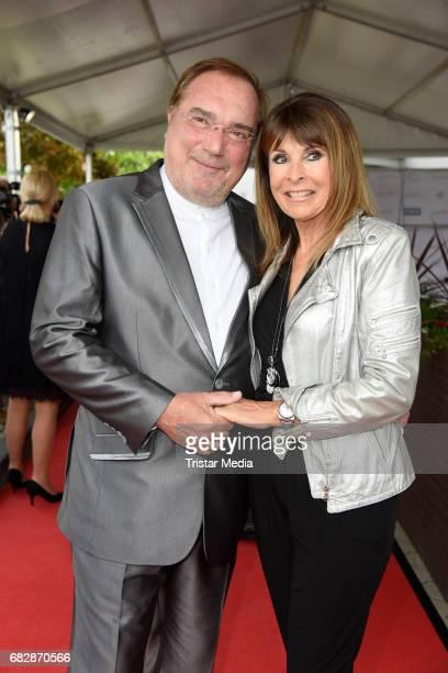 Ireen Sheer and her husband KlausJuergen Kahl attend the 'Goldene Sonne 2017' Award by SonnenklarTV on May 13 2017 in Kalkar Germany