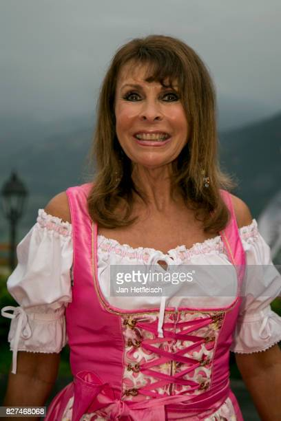 Ireen Sheer during the 14th Almrauschparty at Rosi's Sonnbergstuben on August 4 2017 in Kitzbuehel Austria