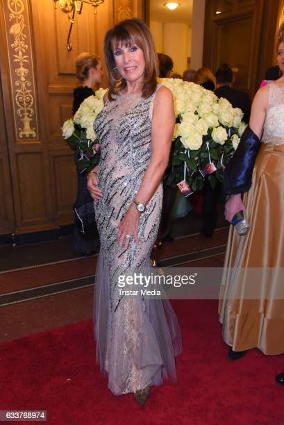 Ireen Sheer during the Semper Opera Ball 2017 at Semperoper on February 3 2017 in Dresden Germany