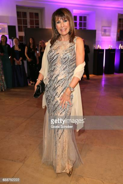Ireen Sheer during the Semper Opera Ball 2017 reception at Hotel Taschenbergpalais Kempinski on February 3 2017 in Dresden Germany