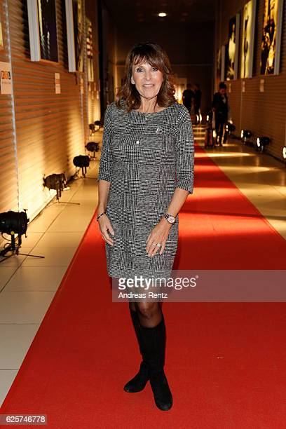 Ireen Sheer is seen in the studio of the RTL Telethon TV show on November 25 2016 in Cologne Germany The telethon is held every year and is on air...