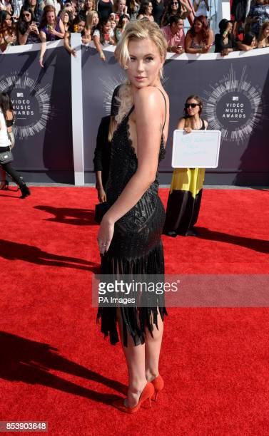 Ireland Baldwin arriving at the MTV Video Music Awards 2014 at The Forum in Inglewood Los Angeles