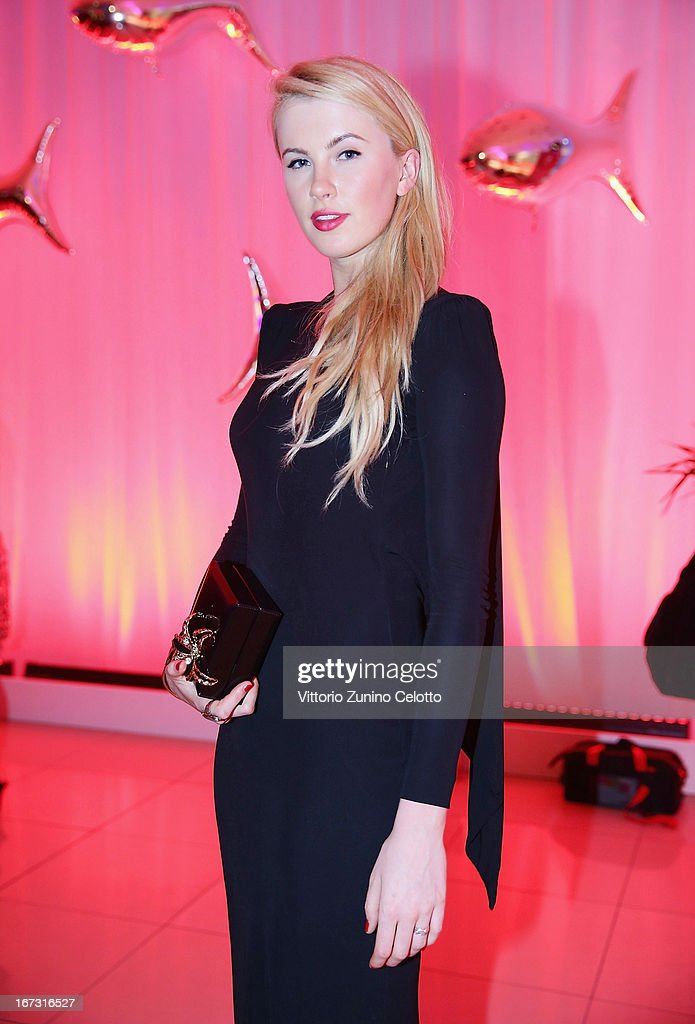 Ireland Baldwin attends Calzedonia Summer Show Forever Together on April 16, 2013 in Rimini, Italy.