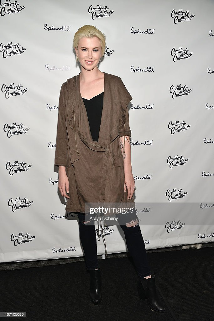 Ireland Baldwin attends Create & Cultivate's Speaker Celebration at The Line Hotel on March 20, 2015 in Los Angeles, California.