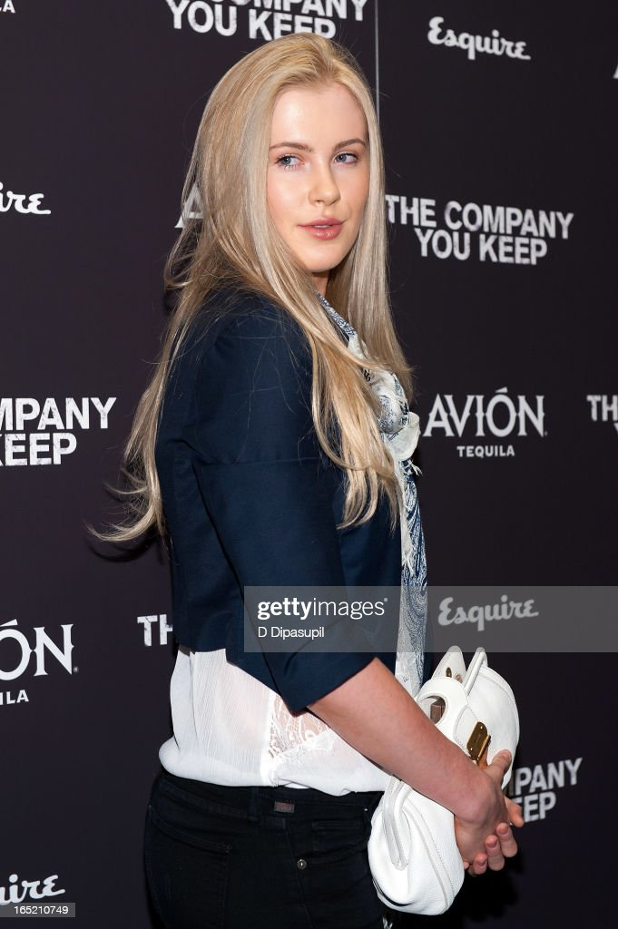 Ireland Baldwin attends 'The Company You Keep' New York Premiere at The Museum of Modern Art on April 1, 2013 in New York City.