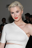 Ireland Baldwin attends the Cushnie Et Ochs MADE Fashion Week Fall 2014 at Milk Studios on February 7 2014 in New York City