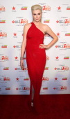 Ireland Baldwin attends the Go Red For Women The Heart Truth Red Dress Collection during MercedesBenz Fashion Week Fall 2014 at The Theatre at...