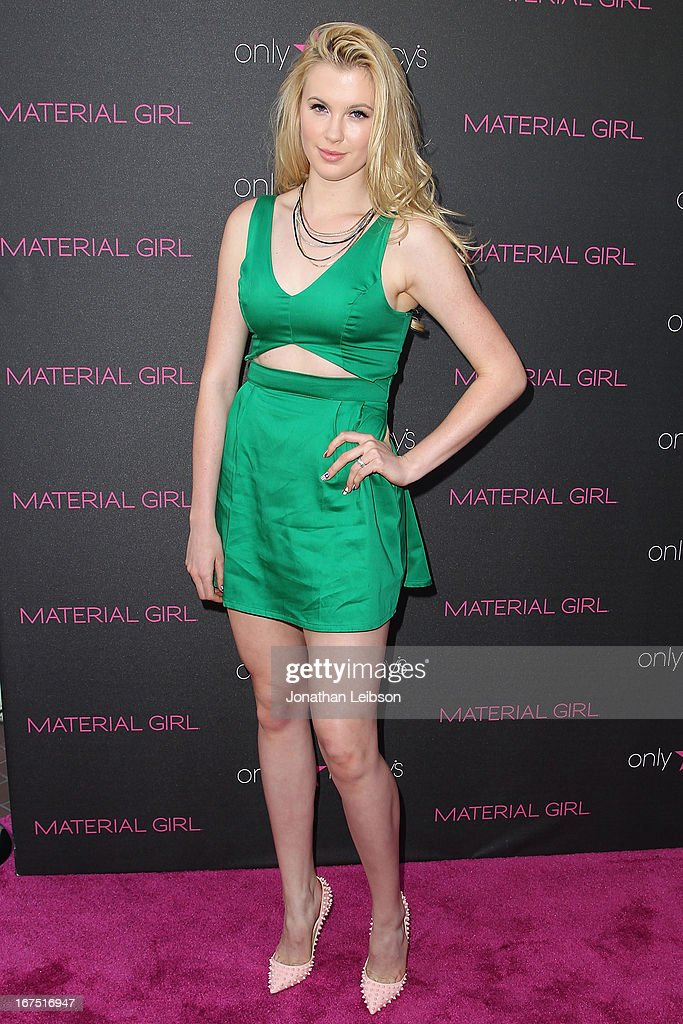 Ireland Baldwin attends the Madonna's Fashion Evolution Pop-Up Exhibition In Conjunction With The Pop Star's 'Material Girl' Clothing Line At Macy's at Macy's Westfield Century City on April 25, 2013 in Century City, California.