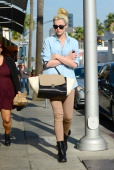 Ireland Baldwin is seen on January 23 2014 in Los Angeles California